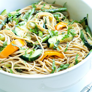 Grilled Vegetables with Pasta