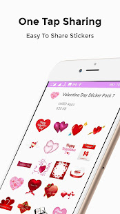 Download Valentine Stickers For WhatsApp WAStickerApps For PC Windows and Mac apk screenshot 5