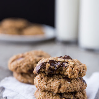 Chewy Coconut Oatmeal Chocolate Chip Cookies.