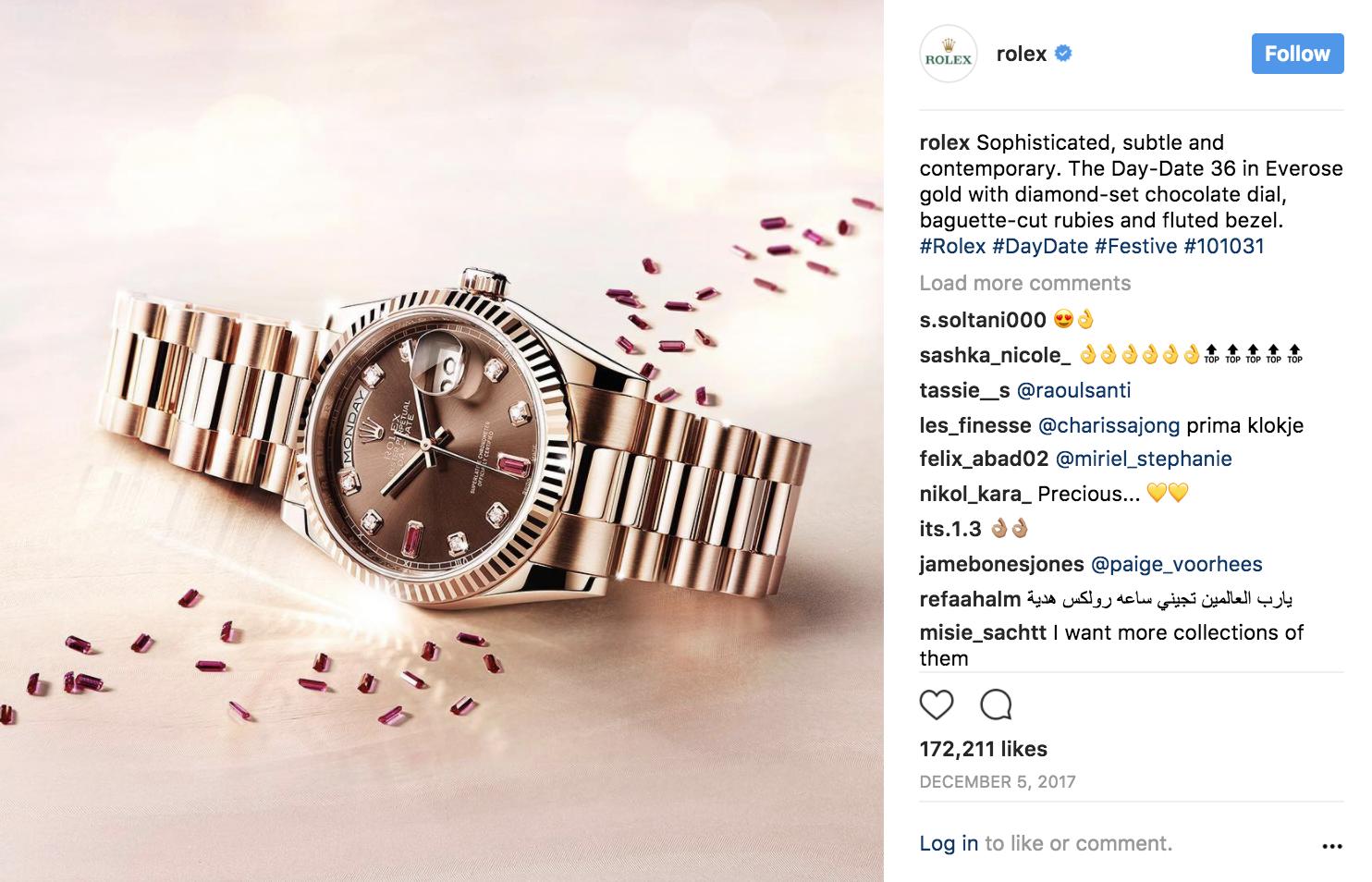rolex-content-marketing-examples