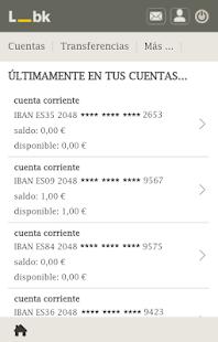 Banca Online Liberbank - náhled