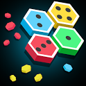 Merge Block Hexa: Dominoes Merged Puzzle icon