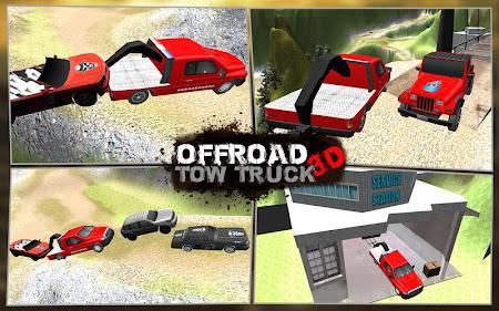 Offroad Tow Truck 3D 1.2 screenshot 1640349