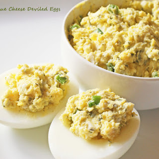Best Blue Cheese Deviled Eggs