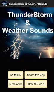 Weather Sounds- screenshot thumbnail