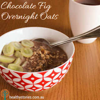 Chocolate Fig Overnight Oats