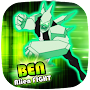 👽 Ben Alien Fight: DiamondHeat Attack APK icon