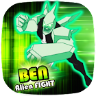 👽 Ben Alien Fight: DiamondHeat Attack icon