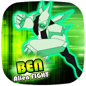 👽 Ben Alien Fight: DiamondHeat Attack