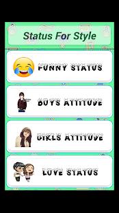Attitude Status Style - náhled