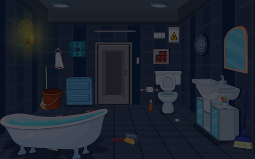 Escape Room Bathroom Level 1 escape games-midnight room - android apps on google play