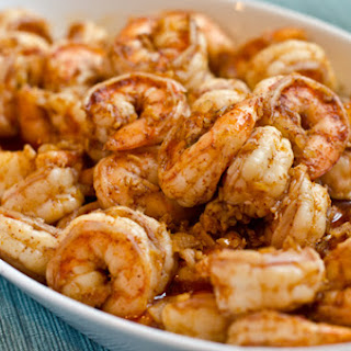 Ginger, Garlic & Chili Shrimp.