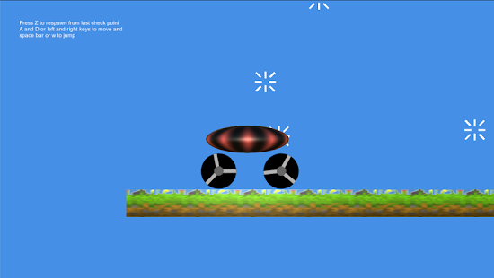 Car Based Platformer- screenshot thumbnail