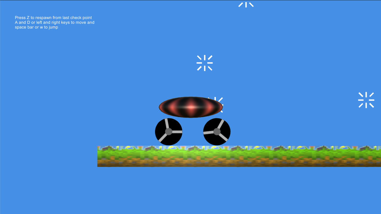 Car Based Platformer- screenshot
