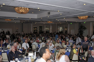 Photo: The room was packed