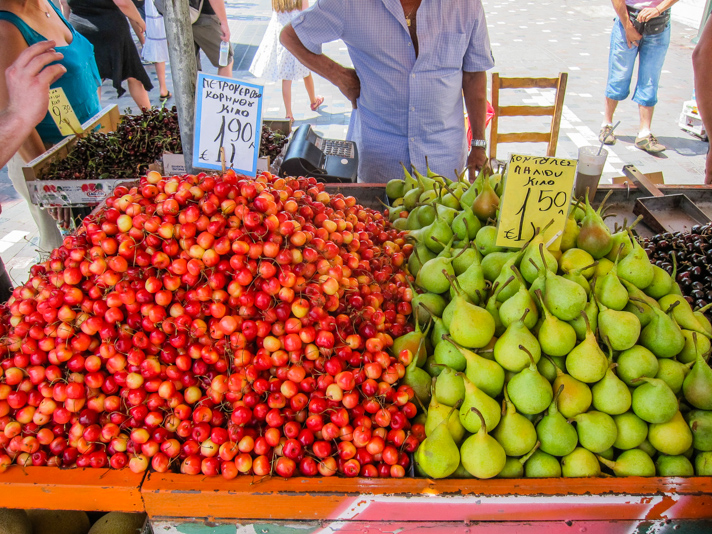 Fruit Market in Athens
