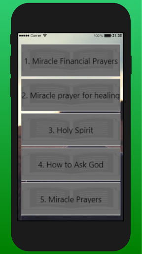 The Miracle Prayer by Creative Live Apps (Google Play