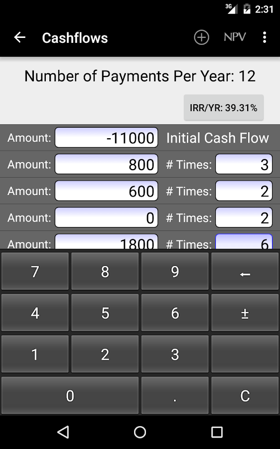 10bii Financial Calculator Android Apps on Google Play – Financial Calculator