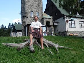 Photo: Bosky a naboso u rozhledny Královka.