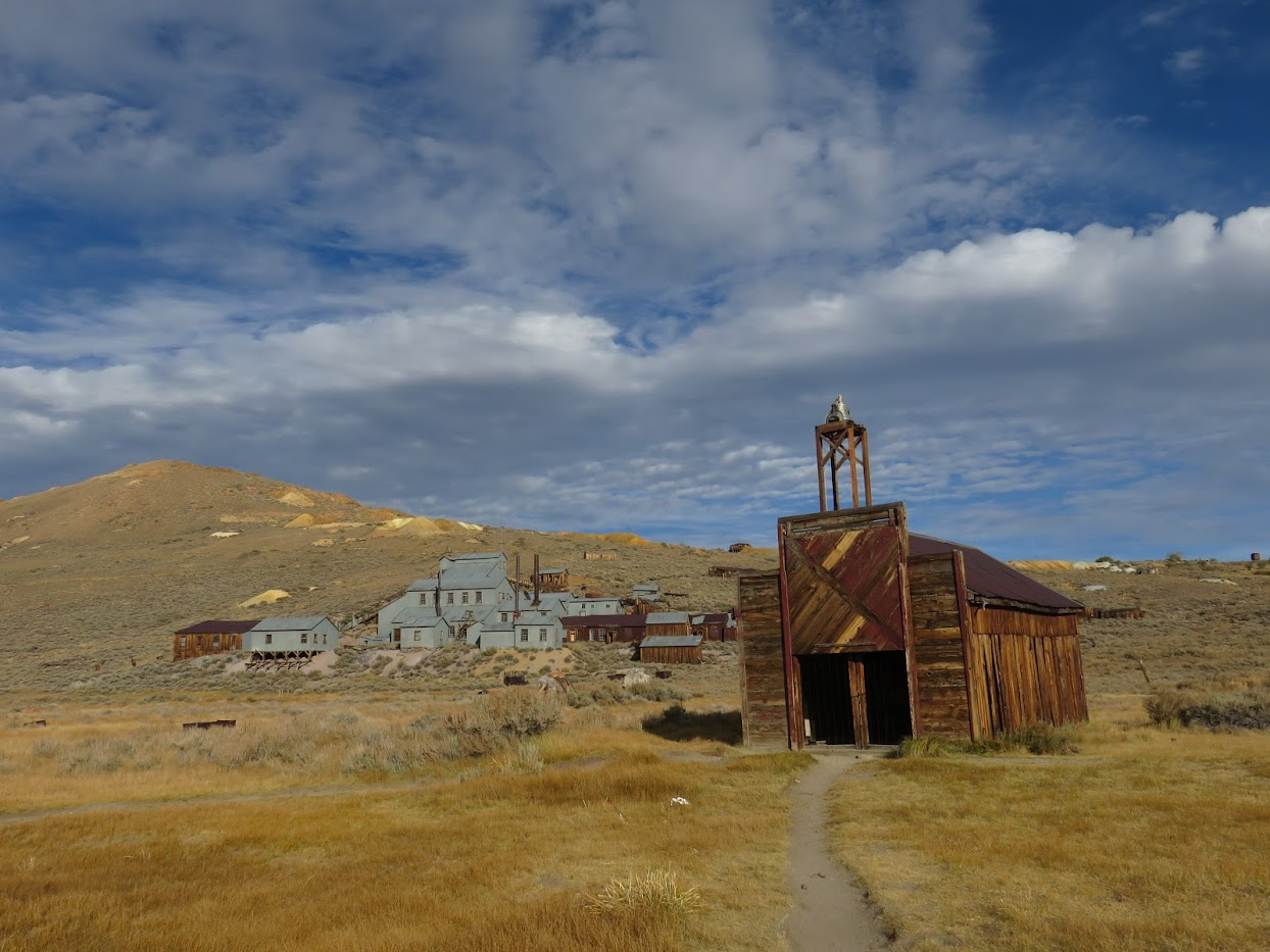 spookstad in Amerika California Bodie State Historic Park