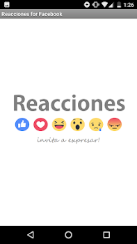 Reacciones for Facebook