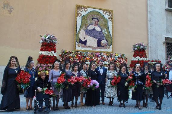 Ofrenda floral 2018 a San Vicente Ferrer.