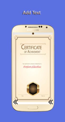Certificate Maker 1.00.03 screenshots 5