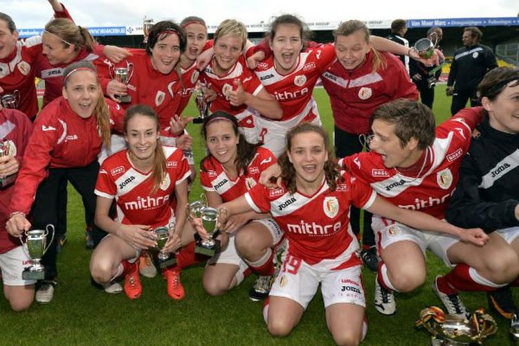 Le Standard Fémina champion de Belgique face à Anderlecht !
