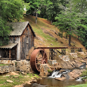 ~Sixes Road Mill~ by Kim Welborn - Buildings & Architecture Statues & Monuments ( nikon d700 )