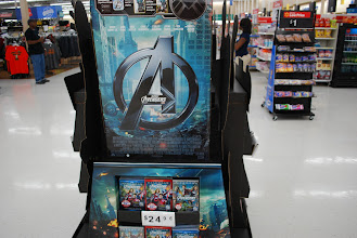 Photo: Here's the movie display at the front of the store.