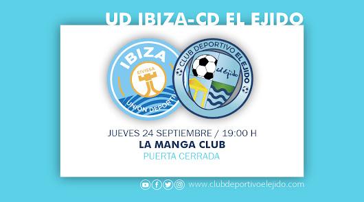 El CD El Ejido jugará su tercer amistoso ante la UD Ibiza