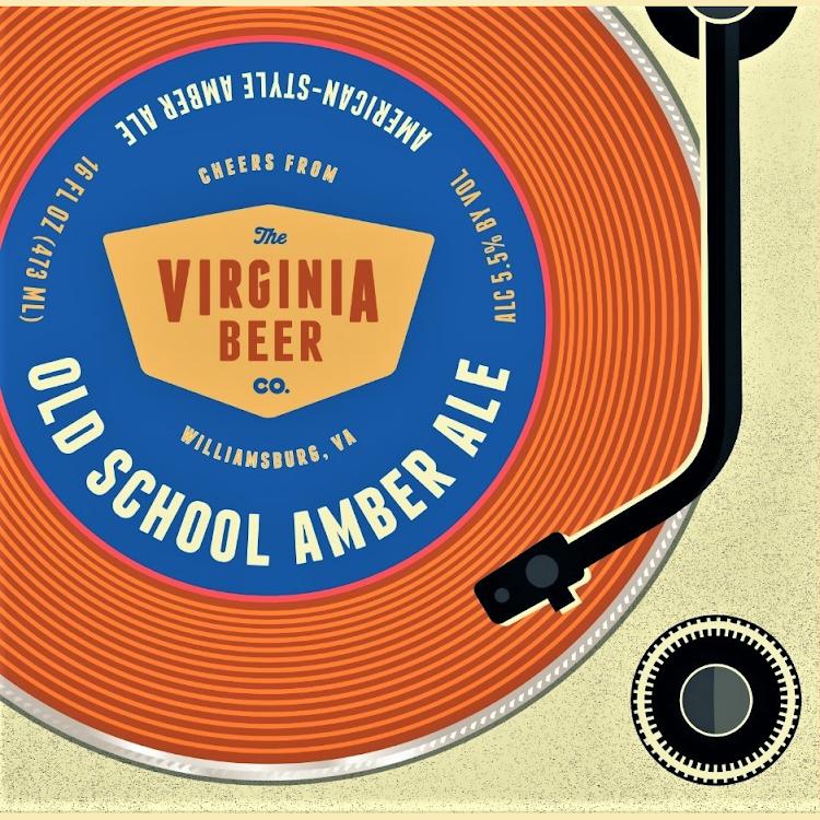 Logo of Virginia Beer Co. Old School Amber Ale