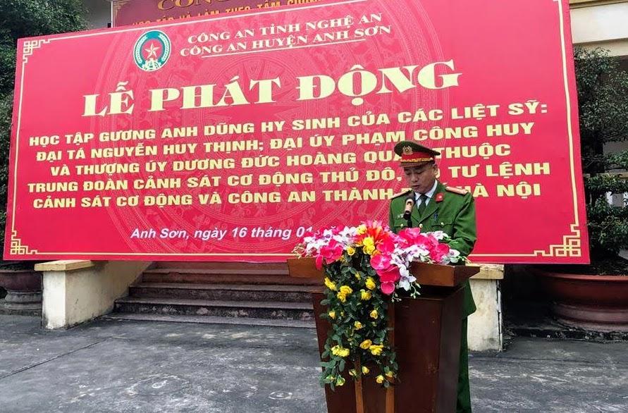Công an huyện Anh Sơn