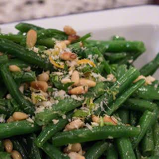 Green Beans Gremolata.