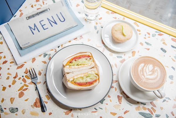 台北忠孝新生GinGin Coffee Company平價舒適不限時的咖啡館推薦(文內有菜單:三明治、甜點、簡餐