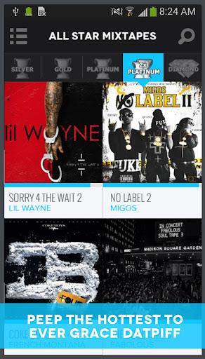 DatPiff - Mixtapes & Music 4.7.8 screenshots 1