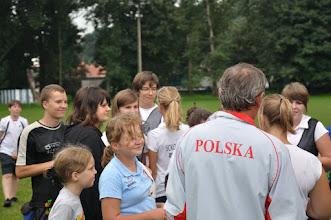 Photo: Ogłoszenie wyników kwalifikacji - kto z kim będzie strzelał pojedynki. Mistrzostwa Małopolski Dzieci i Młodzików 2011 (Dobczyce, 16.08.2011)