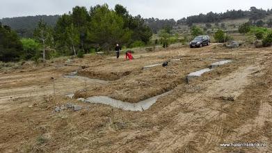 Photo: 3-4-2014: beton fundering gestort