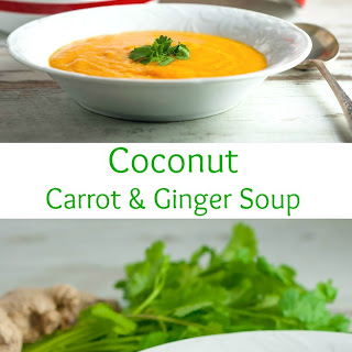 Coconut Carrot & Ginger Soup