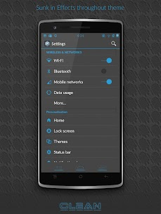 BigDX Clean Theme CM11 AOKP – Mod + Data for Android 3
