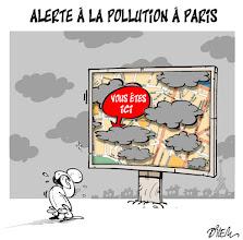 Photo: 2012_Paris, alerte à la pollution