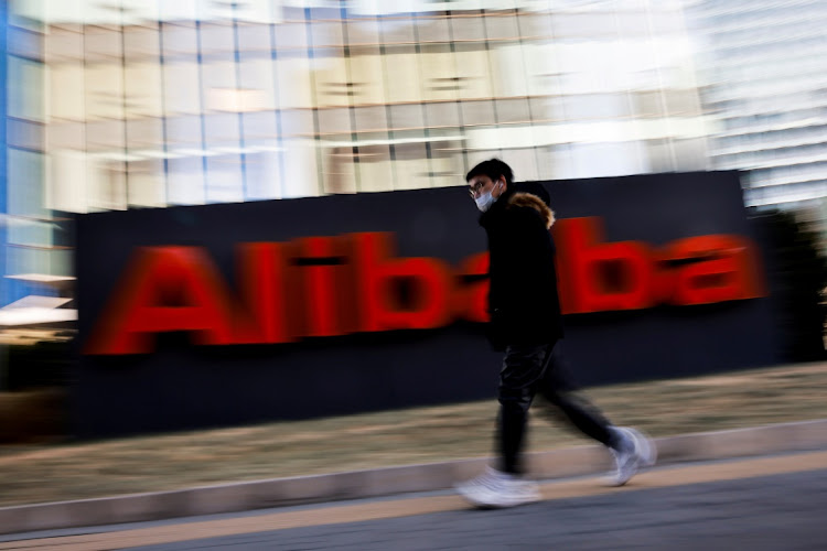 An Alibaba office in Beijing, China. Picture: REUTERS/THOMAS PETER