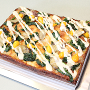 Small Spring Vegetarian Pizza