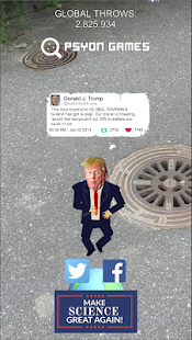 TrumpVsScience: Trump GO- screenshot thumbnail