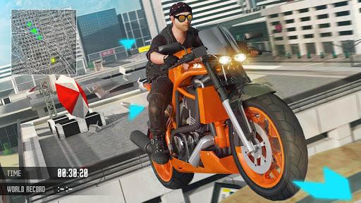 Grand City Moto X Bike Stunts image
