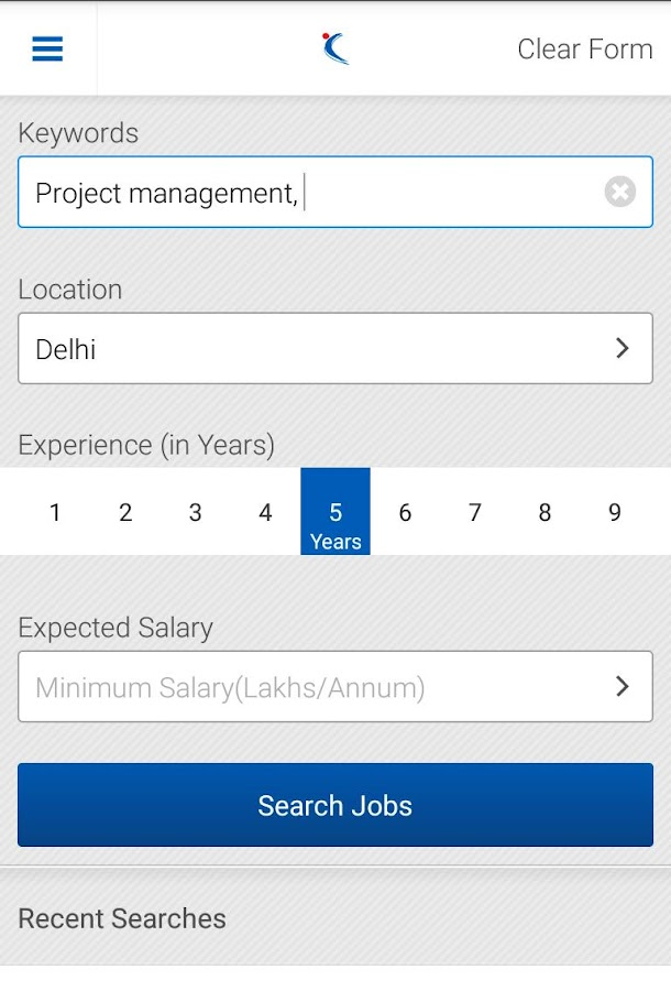 Naukri.com Job Search - screenshot
