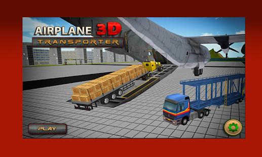 Transporter Plane 3D : Truck Transport - náhled