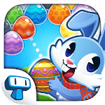 Bunny Bubble Shooter - Rabbit Egg Shooting Game Icon
