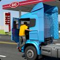 Oil Tanker Transporter Truck Simulator icon