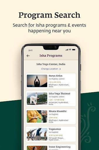 Sadhguru - Yoga, Meditation & Spirituality 5.0 screenshots 3